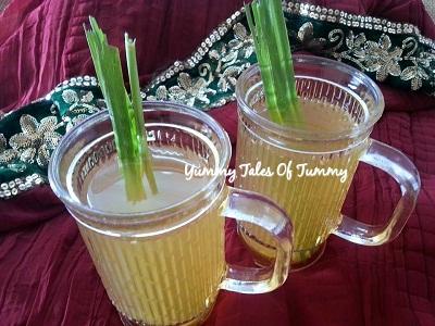 Lemongrass Herbal Breezer | Lemongrass cooler