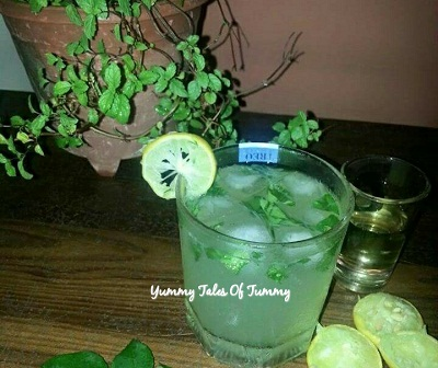 Curry leaves lemonade | Curry leaves cooler
