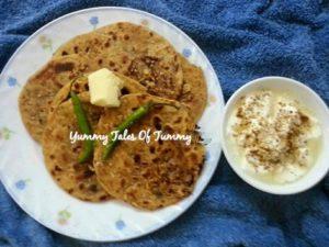 Papad Paratha Recipe | Sindhi papad partaha