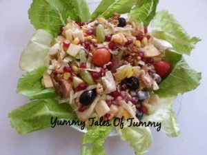 Read more about the article Waldorf Salad with interesting twist