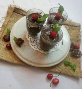 Chocolate Chia Pudding | Breakfast pudding