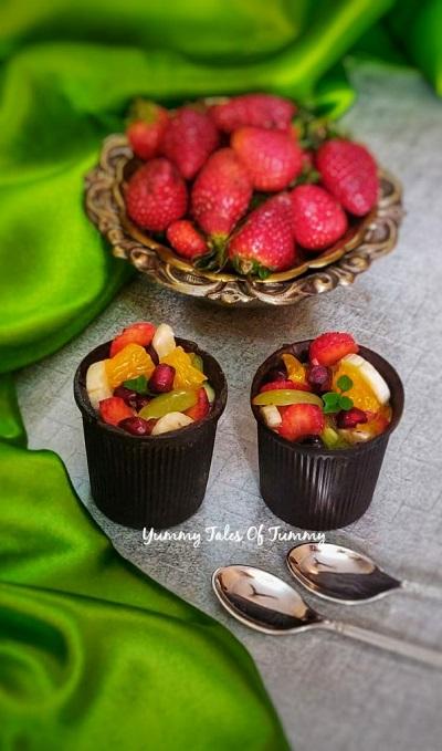 Chocolate edible glasses | Chocolate glasses