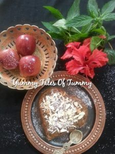 Read more about the article Chocolate chips & Apple Cake