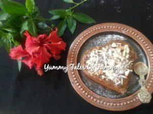 Chocolate chips & Apple cake