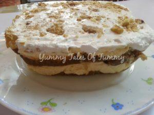 Apple Pie Tiramisu Eggless