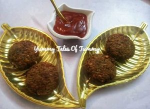 Leftover Chapati Cutlets | Leftover roti cutlets