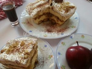 Read more about the article Apple Pie Tiramisu (Eggless)