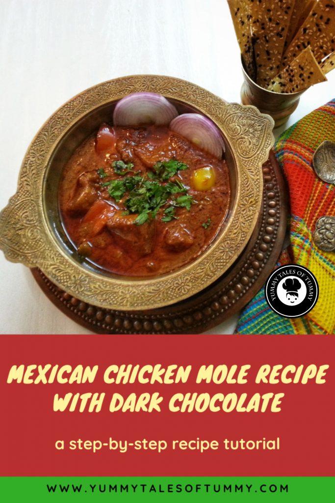Chocolate Chicken Mole Recipe