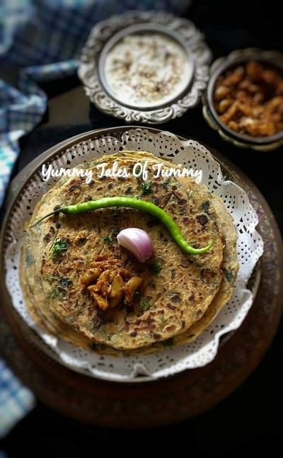 Mooli ke Parathe with a twist | Radish Paratha