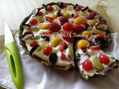 No Bake Mix Fruit Pie