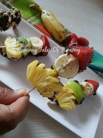 Fruity and Nutty Sticks
