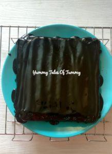 Eggless Ragi, Wholewheat, Chocolate Cake