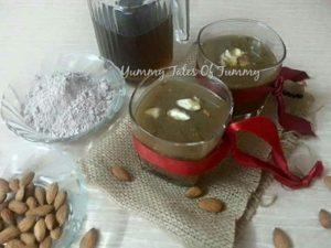Ragi Almond Cooler | Nachni Drink