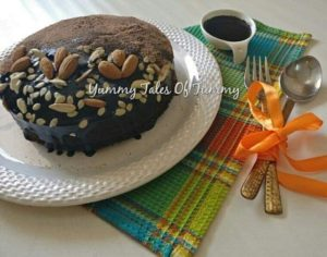 Read more about the article Buckwheat flour Chocolate beetroot cake | Kuttu atta cake