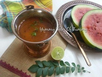 Watermelon Rasam recipe