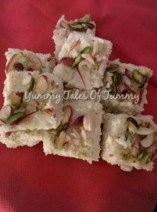 Easy Kalakand | Indian milk cake