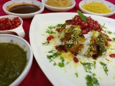 Poha Alu Raj Kachori | Raj kachori recipe