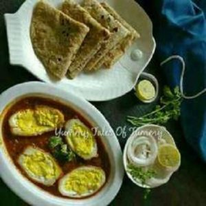 Read more about the article Paneer ke Ande   Paneer eggs in gravy   Vegetarian Egg curry