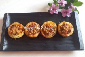 Baked Potatoes Cheesy Discs