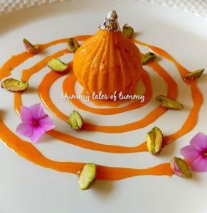 Gajar Halwa Mousse | Carrot Halwa Mousse