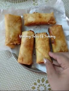 Gajar halwa spring rolls