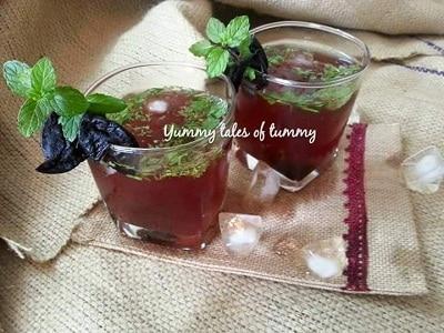 Kokum Sharbat | Kokum juice recipe