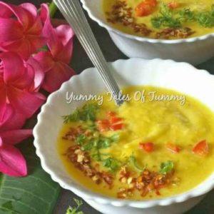 Read more about the article Mango Chilli Cold Soup | Mango Dessert