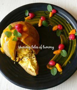Mango Dome Cake Recipe