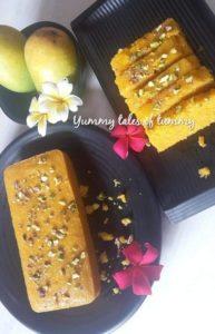 Read more about the article Mango Semolina Cake | Mango Sooji cake