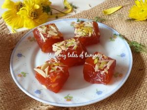 Read more about the article Karachi Halwa | Bombay Halwa
