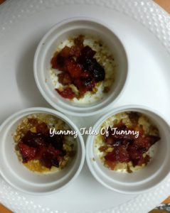 Wheat Dalia Plum Cake Recipe