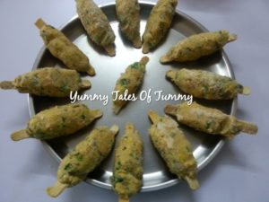 Corn and Vegetables Kababs