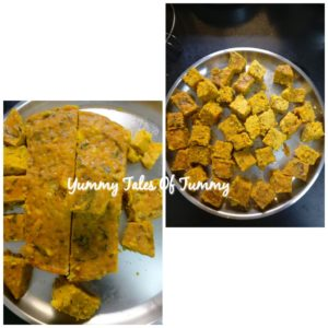 Makai/Corn Kothimbir Vadi