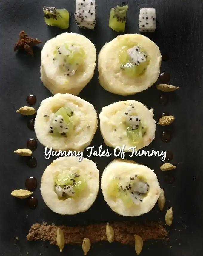 Fruit Sushi Recipe (Frushi)   Rice kheer Sushi