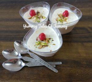 Leftover whipped cream & bread malai kulfi