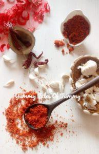 Vada pav chutney | Dry garlic coconut chutney