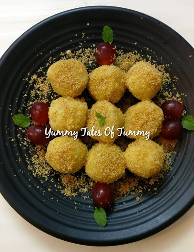 Potato fruity Knodel | Traditional European Dumplings