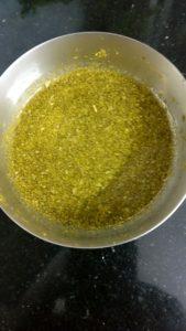 Imli Patta paste in a bowl