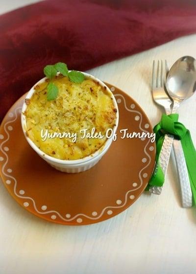 Potato Bake | Creamy Cheesy potato bake