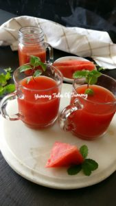 Tarbooj Panna | Watermelon summer cooler
