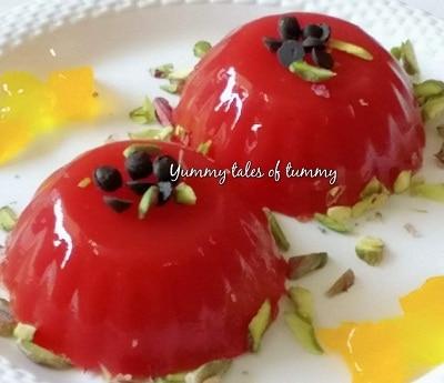 Homemade easy Watermelon jelly