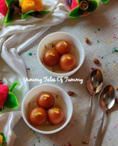Sweet potato gulab jamun | Shakarkand ke gulab jamun