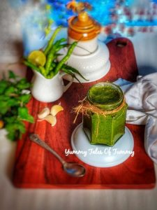 Read more about the article Green Chutney Recipe   Dhania Pudina Chutney