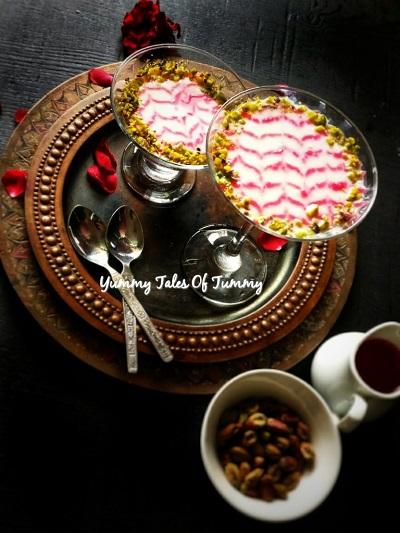 Mahalabia Dessert Recipe | Middle Eastern Milk Pudding
