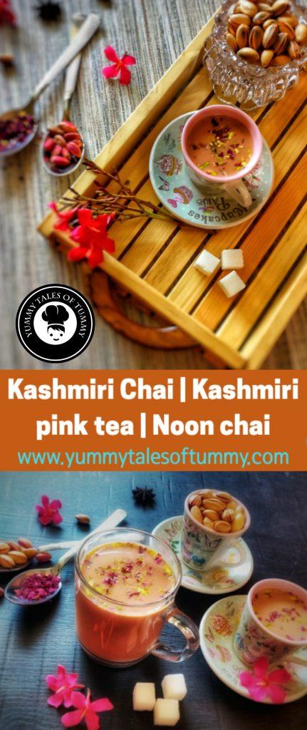 Kashmiri Chai | Kashmiri pink tea | Noon chai