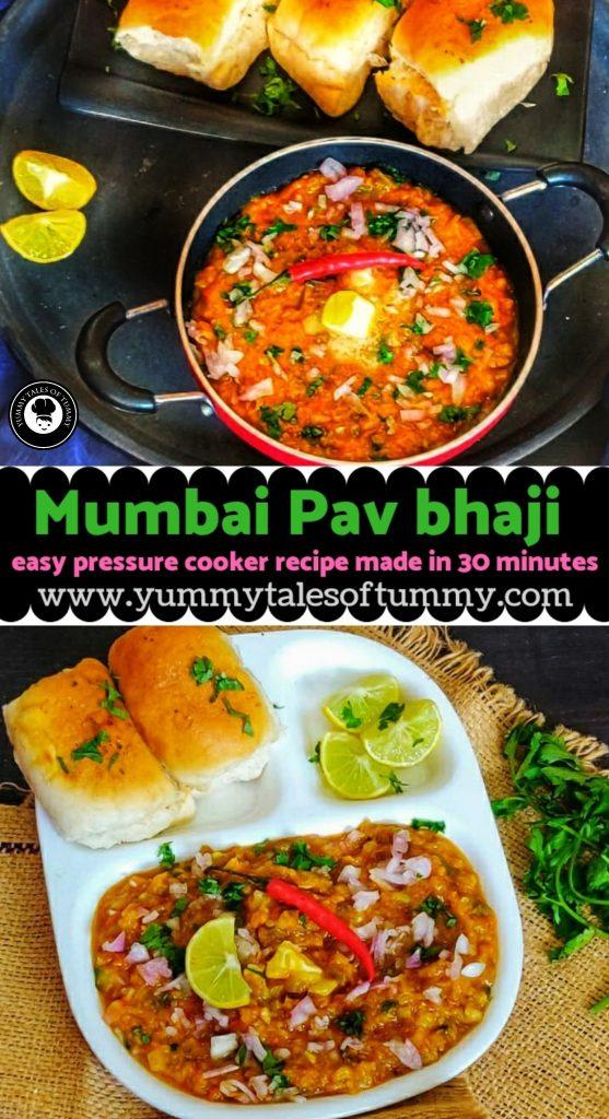 Pav Bhaji | Mumbai Pav bhaji