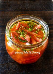 Carrot pickle|Zero oil Gajar ka achaar