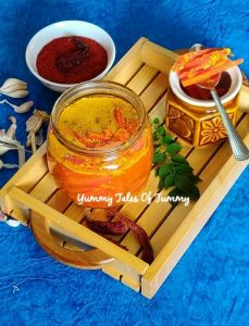Carrot pickle | Zero oil Gajar ka achaar