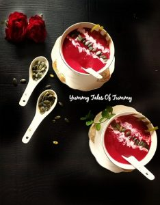 Read more about the article Beetroot soup | Beetroot Pear soup