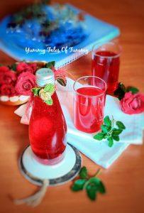 Rooh Afza syrup recipe   Recipe of Gulab sharbat